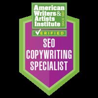 seo copwriting specialist badge