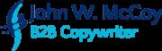 Logo for John W. McCoy, B2B Copywriter